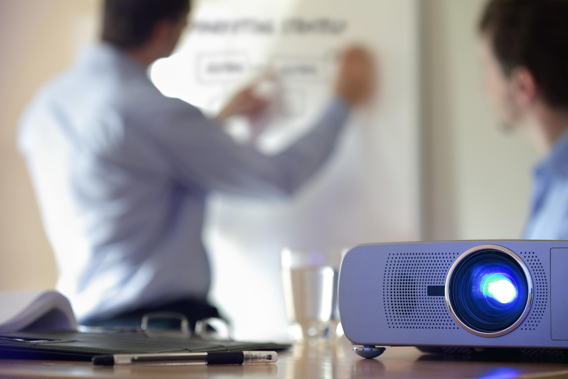 Как сделать презентацию на проекторе