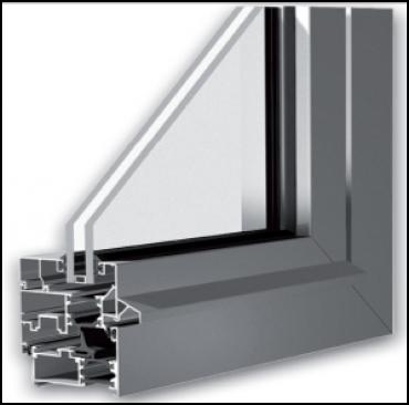 Ventana de aluminio de rotura de puente t rmico canal 16 - Ventanas pvc o aluminio puente termico ...